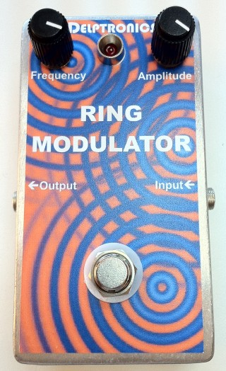 Custom Ring Modulator Pedal