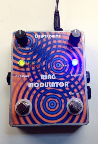 Custom Ring Modulator Pedal with Octave Up